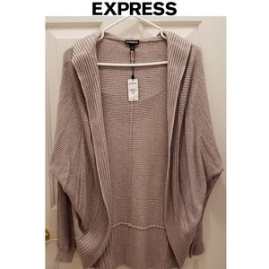 Express Cocoon Hooded Cardigan